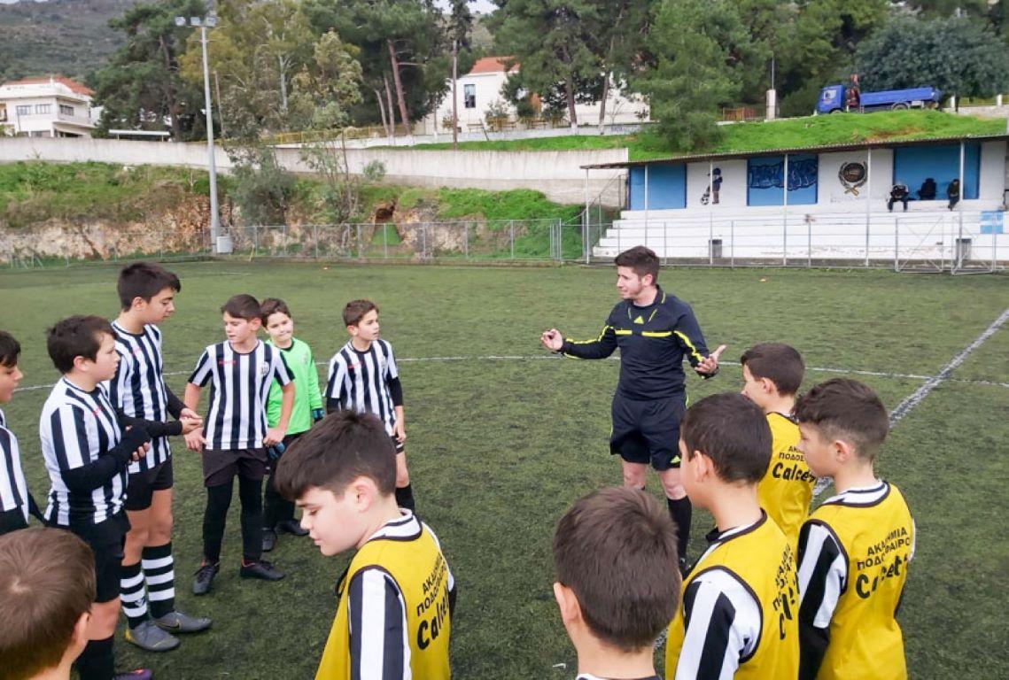Επαιξαν σε Μουρνιές και Καθιανά οι ομάδες μας Κ12