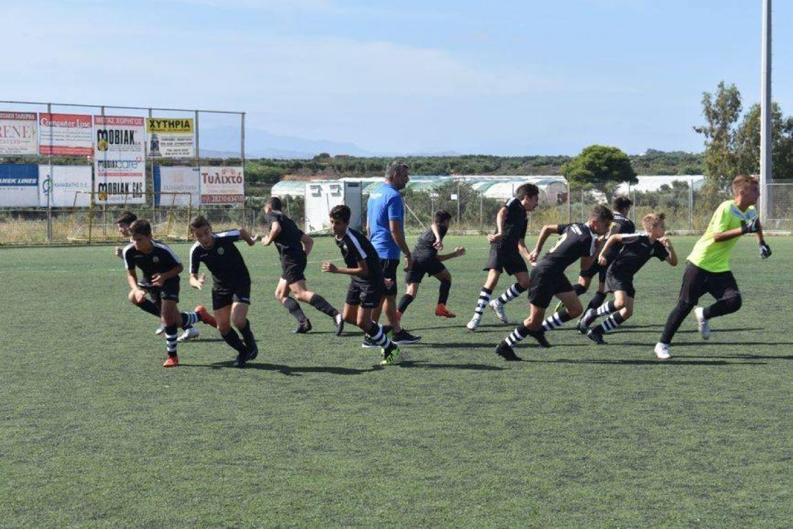 Συνεχίζονται οι εγγραφές στην Ακαδημία Ποδοσφαίρου Καλτσέτο!