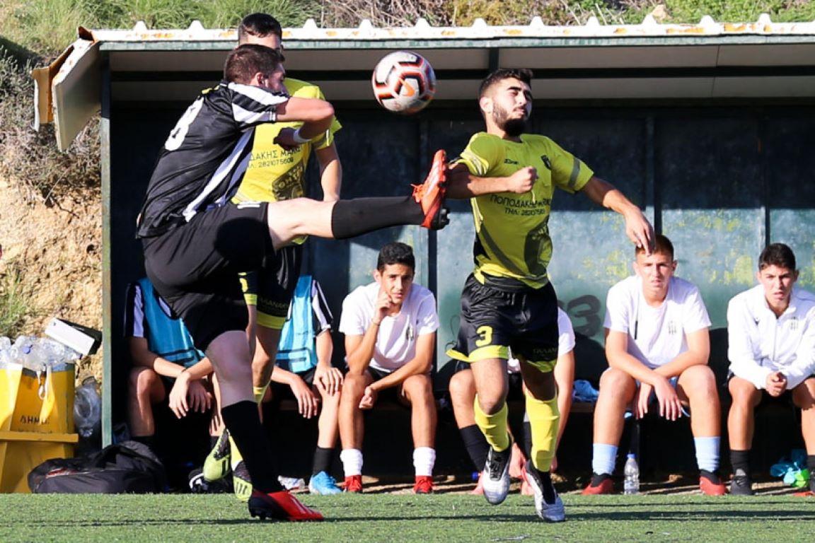 Προηγήθηκε με Κρεμασμενάκη, τελικό αποτέλεσμα 1-1 στο Κολυμπάρι