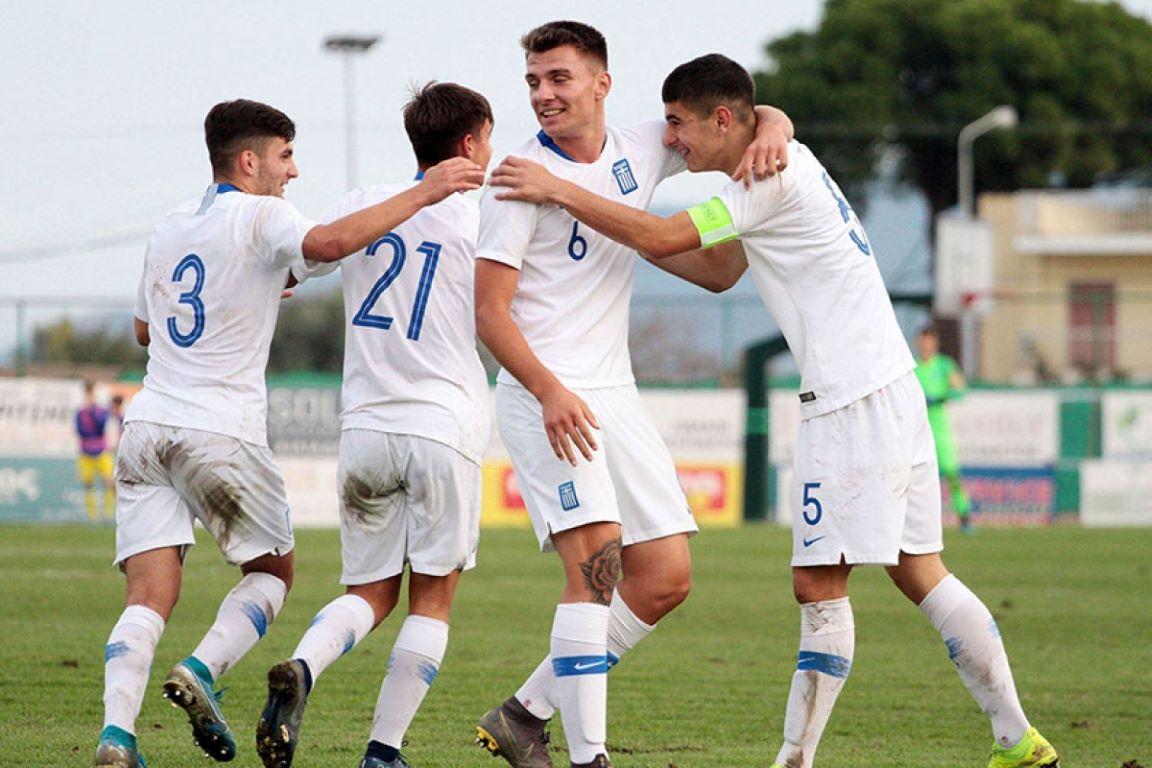 Βασικός ο Κουλιεράκης στη νίκη της Εθνικής παίδων στη Βουλγαρία